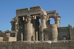 Temple of Kom Ombo. Egypt