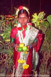 Girl's coming of age ceremony, Tamil Nadu, South India image 2