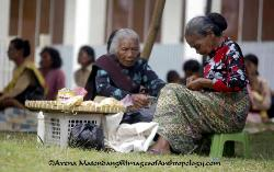 bean sellers, Batak Toba society, Sumatra Indonesia