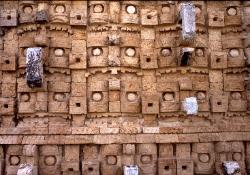 Chac masks, Mayan site of Kabah, Yucatan, Mexico