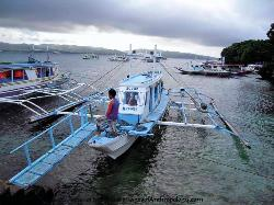 Philippines, outrigger boat