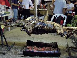 Philippines, Island of Boracay, barbeque