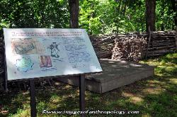Stony Point Battlefield, along the Hudson River, New York