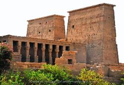 Temple of Isis on the Island of Philae near Aswan, Egypt