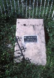 Grave of William Walker, Trujillo, Honduras