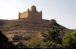 Tomb of the Aga Khan near Aswan, Egypt