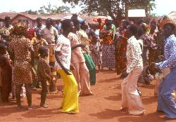 Village dance, Central African Republic