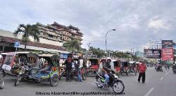 city of Medan, Sumatra, Indonesia