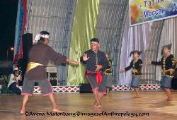 Mocak martial arts performance Sumatra Indonesia