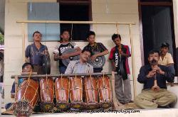 Parmalim music ensemble Sumatra Indonesia
