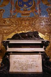 Coffin of Francisco Pizarro, the Tomb of the Conquistador, the Cathedral, Plaza Mayor, Lima