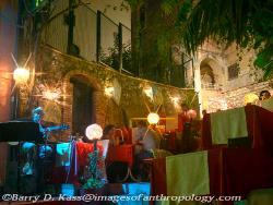 Outdoor cafe, Taormina