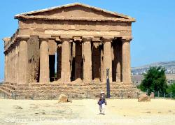 The Temple of Concordia, Valley of the Temples, Agrigento, Sicily