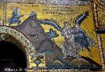Biblical mosaic, Cathedral of Monreale, Sicily, Italy