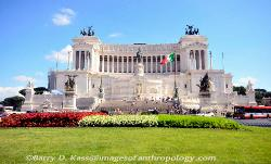 Monument to King Victor Emmanuel II, Rome, Italy