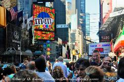 Times Square, New York City, in the daytime