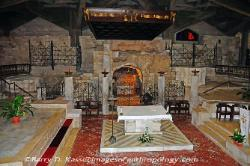 Interior, Basilica of the Annunciation in Nazareth