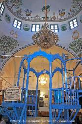 Old synagogue in Safed, Israel