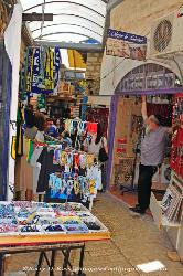 Street market in Safed, Israel