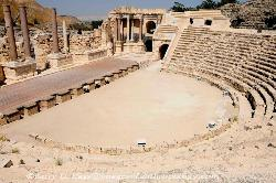 the Roman theater, Bet She'an, Israel