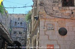 the Via Dolorosa, Jerusalem, Israel