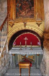 Christian shrine along the Via Dolorosa, Jerusalem, Israel