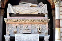 Tomb of the Scaligeri family,Verona,Italy