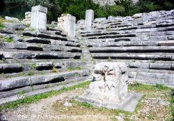 Turkey Bouleuterion (council house) in Priene