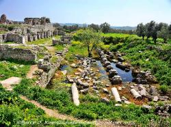Turkey Baths of Faustina at Miletus