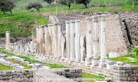Turkey the Sanctuary of Asklepios at Pergamon