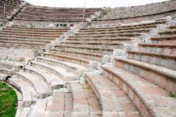 Turkey the Theater at the Sanctuary of Asklepios at Pergamon
