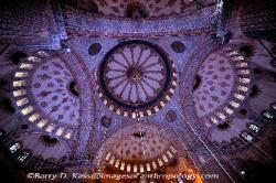 Turkey Dome of the Sultan Ahmet I (the Blue Mosque) in Istanbul