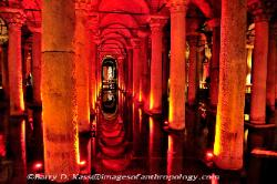 Turkey the Basilica Cistern in Istanbul