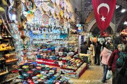 Turkey inside the Grand Bazaar of Istanbul image 5