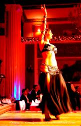 Turkey belly dancer in a nightclub in Istanbul
