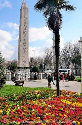 Turkey the Obelisk of Pharoah Thutmose at the Hippodrome in Istanbul