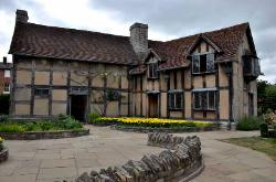 The house of William Shakespeare, Stratford-upon-Avon, England