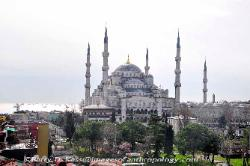 Turkey Sultan Ahmet I (the Blue Mosque) in Istanbul