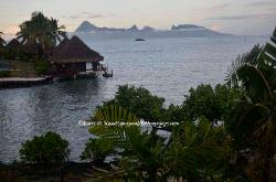 Daybreak in Tahiti, French Poynesia