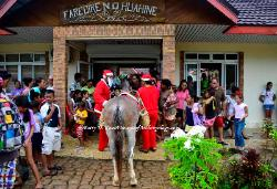 Christmas on Huahine, French Polynesia