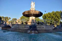 Fountain, Aix-en-Provence