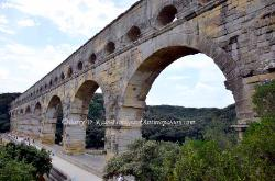 The Pont du Gard, Roman Aqueduct, France