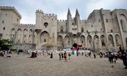 The Palace of the Popes, Avignon, France