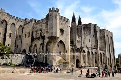 The Palace of the Popes, Avignon,France