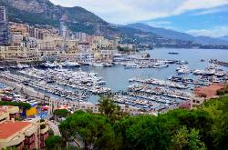 Harbor of Monaco
