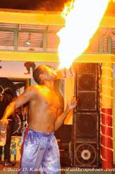 Jamaica, flame thrower, Runaway Bay