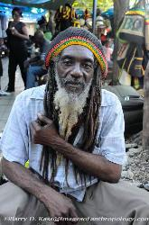 Jamaica, Rastaman, dreadlocks, craft market, Ocho Rios