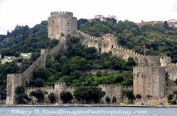 Ottoman fort along the Bosporus, Turkey