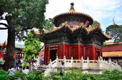 Pavilion in the Concubine Garden, Forbidden City, Beijing, China
