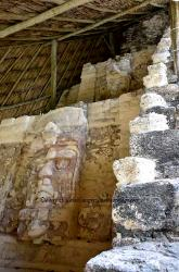 Temple of the Masks, Mayan site of Kohunlich, Mexico
